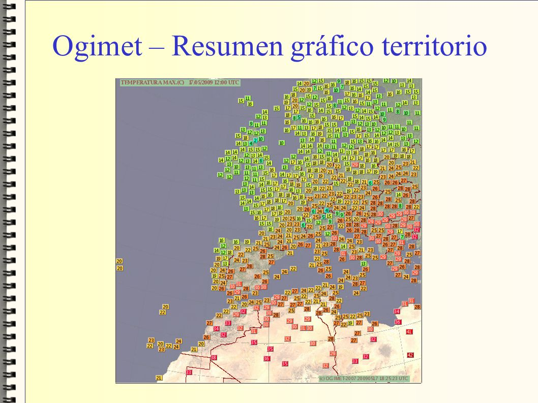 Ogimet – Resumen gráfico territorio