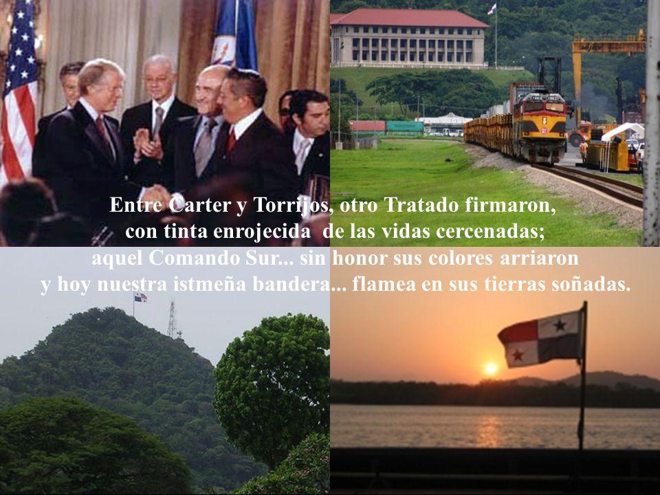 Entre Carter y Torrijos, otro Tratado firmaron,