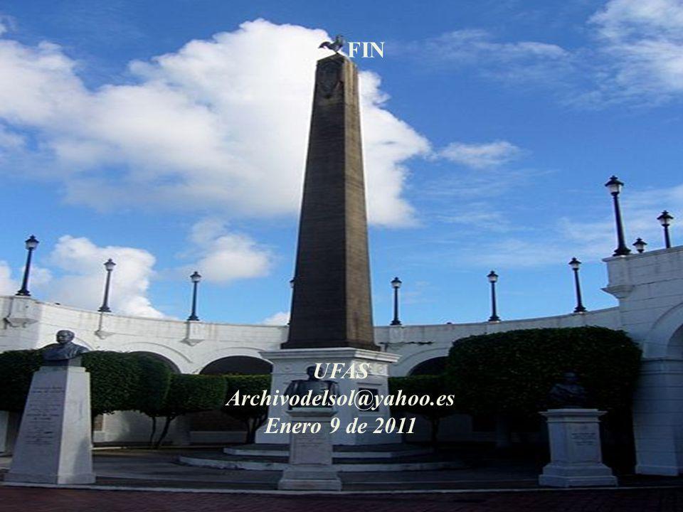 FIN UFAS Archivodelsol@yahoo.es Enero 9 de 2011