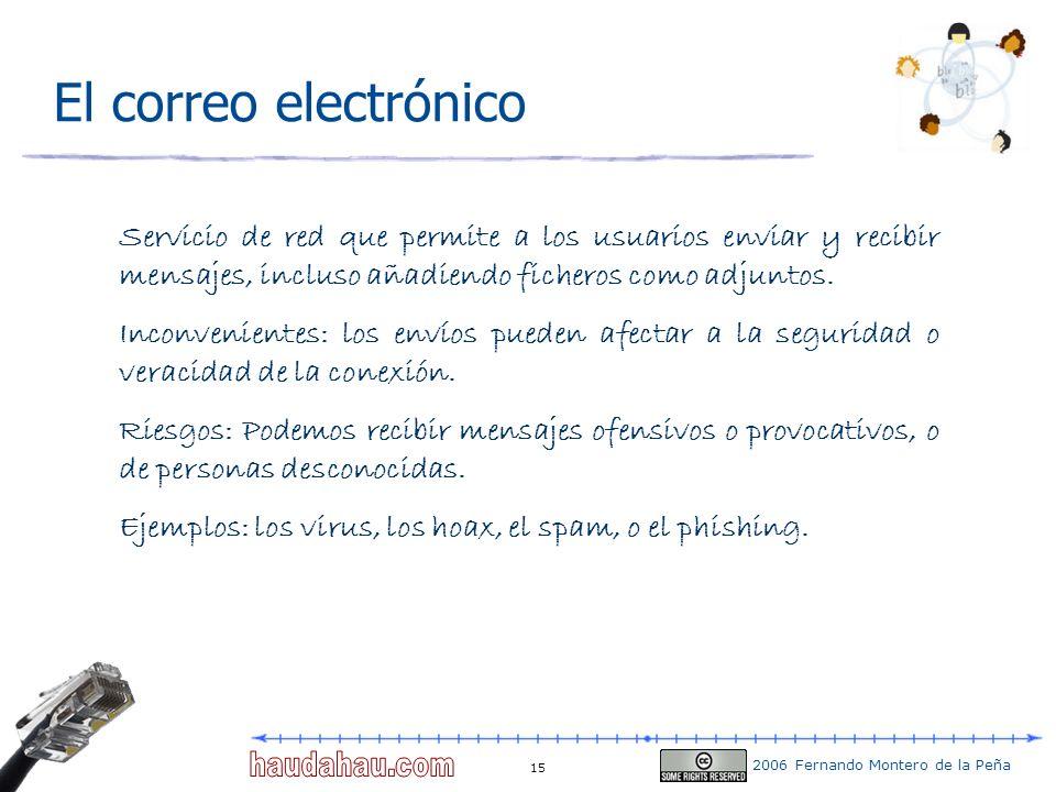 El correo electrónico Servicio de red que permite a los usuarios enviar y recibir mensajes, incluso añadiendo ficheros como adjuntos.