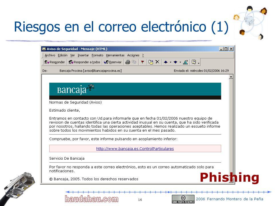 Riesgos en el correo electrónico (1)