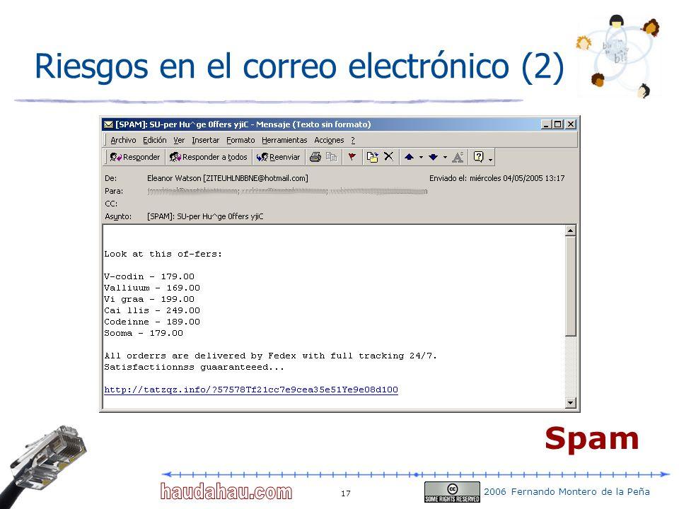 Riesgos en el correo electrónico (2)