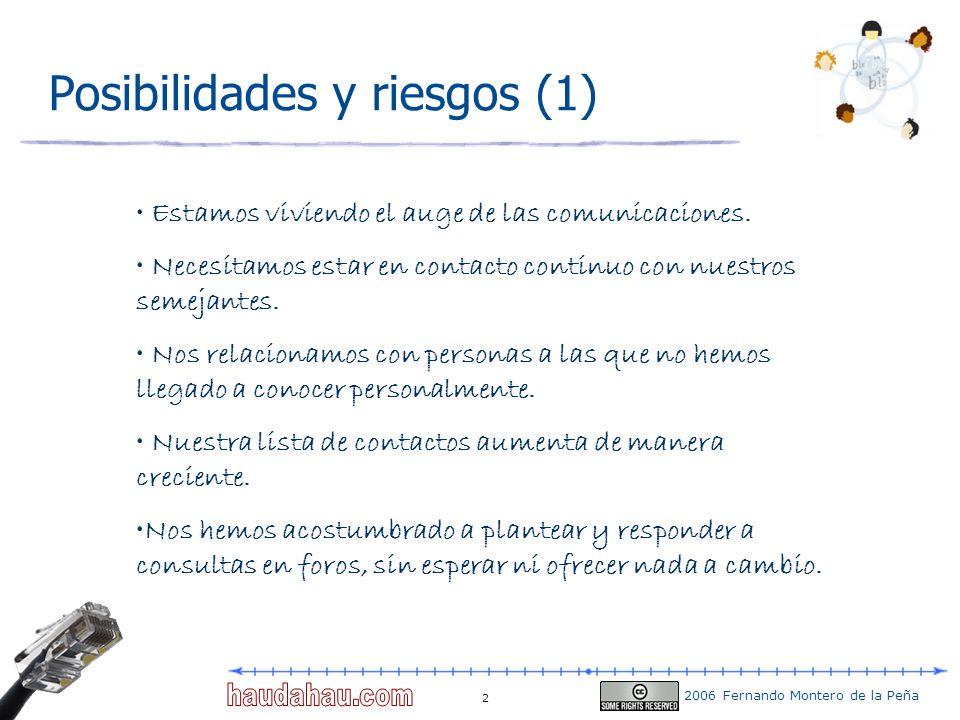 Posibilidades y riesgos (1)