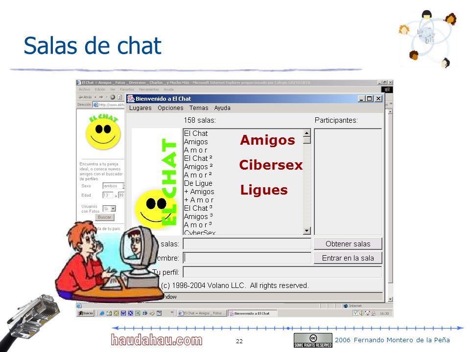 Salas de chat Amigos Cibersex Ligues