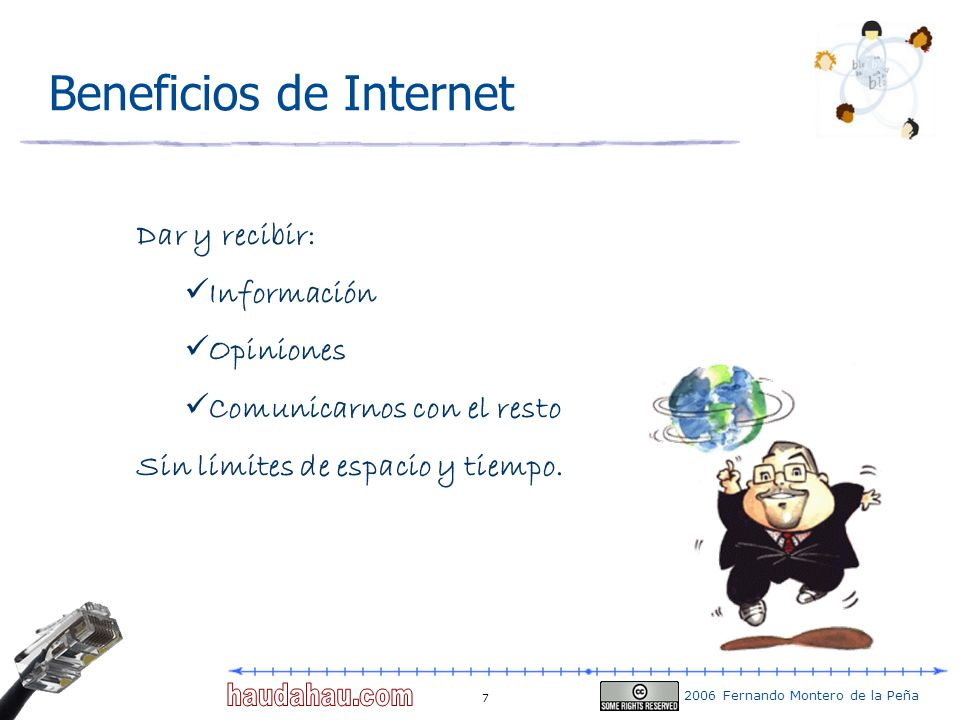 Beneficios de Internet