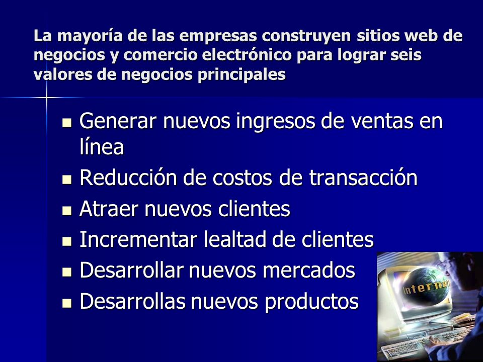 Generar nuevos ingresos de ventas en línea