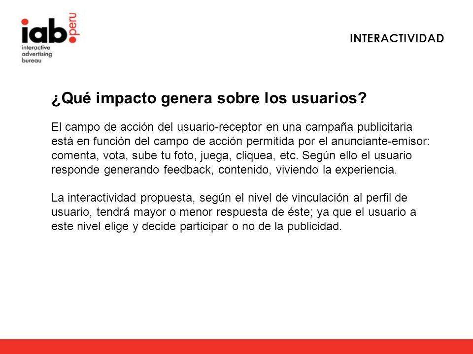 ¿Qué impacto genera sobre los usuarios