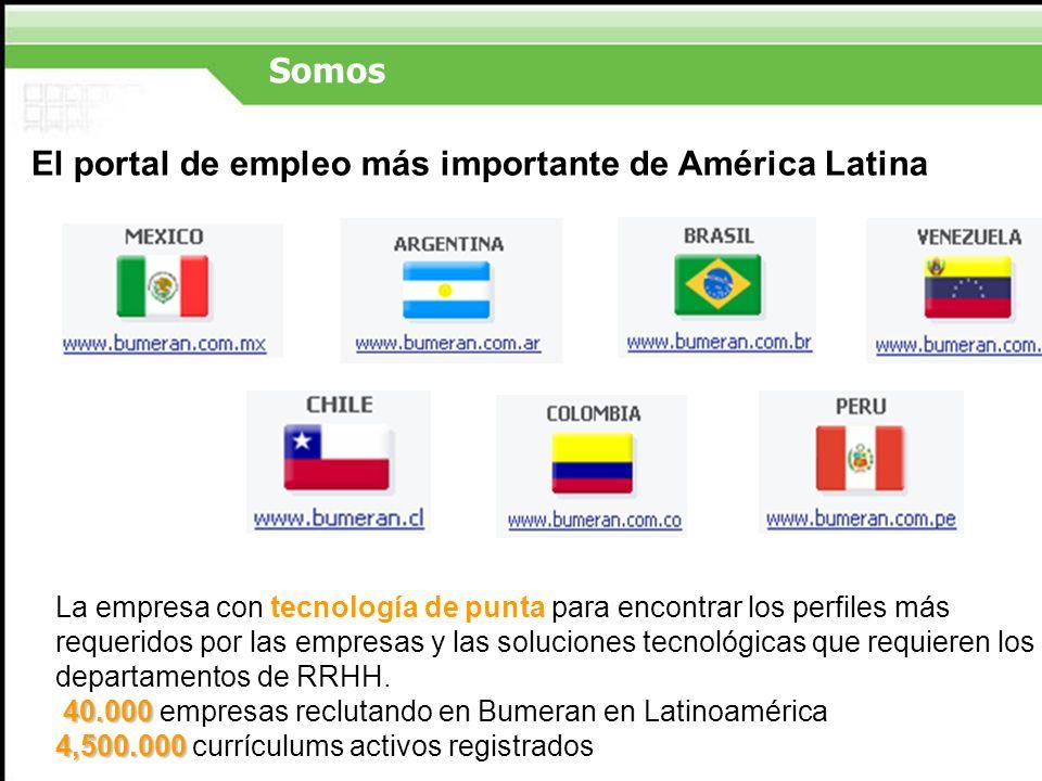 El portal de empleo más importante de América Latina
