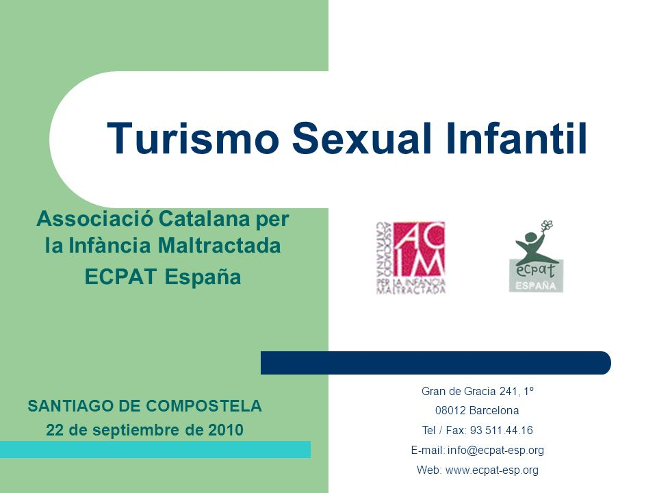 Turismo Sexual Infantil