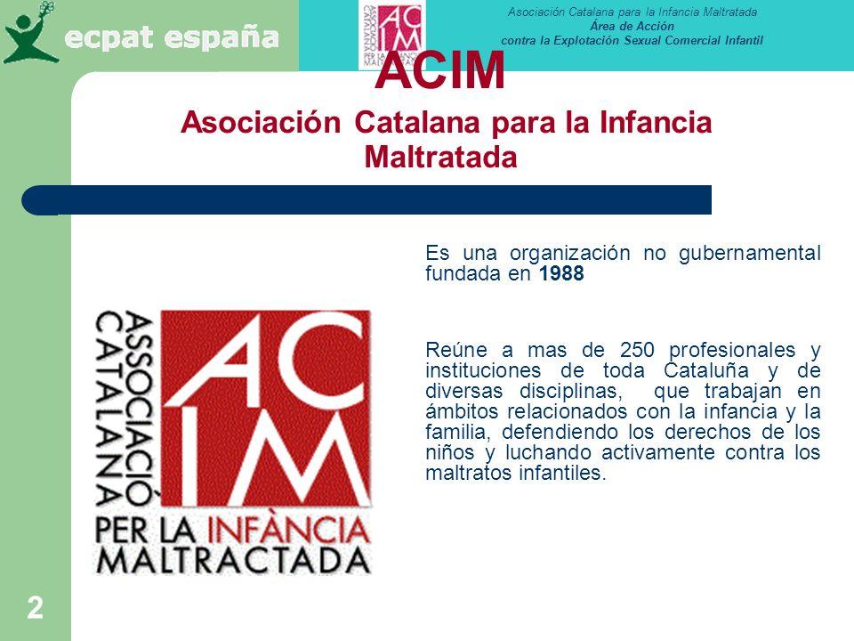 ACIM Asociación Catalana para la Infancia Maltratada