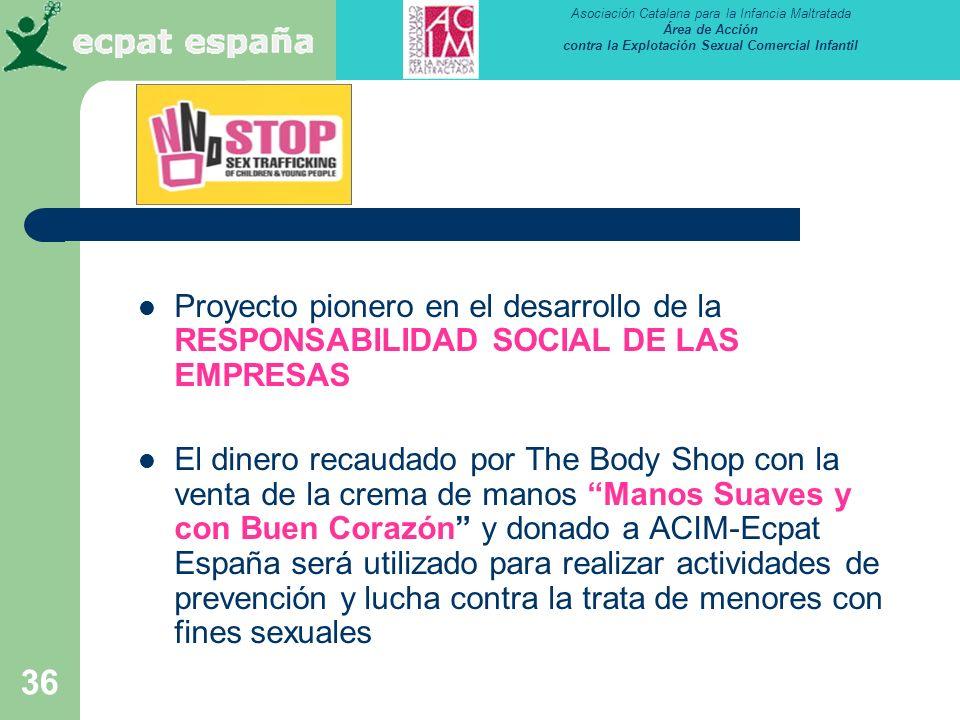 Proyecto pionero en el desarrollo de la RESPONSABILIDAD SOCIAL DE LAS EMPRESAS