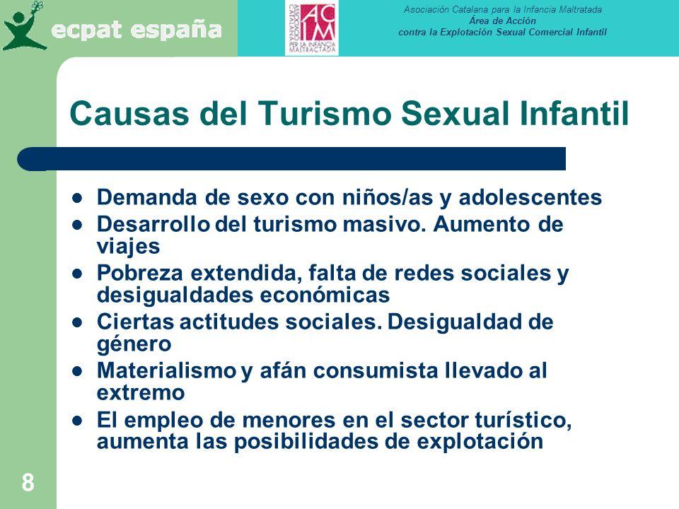 Causas del Turismo Sexual Infantil
