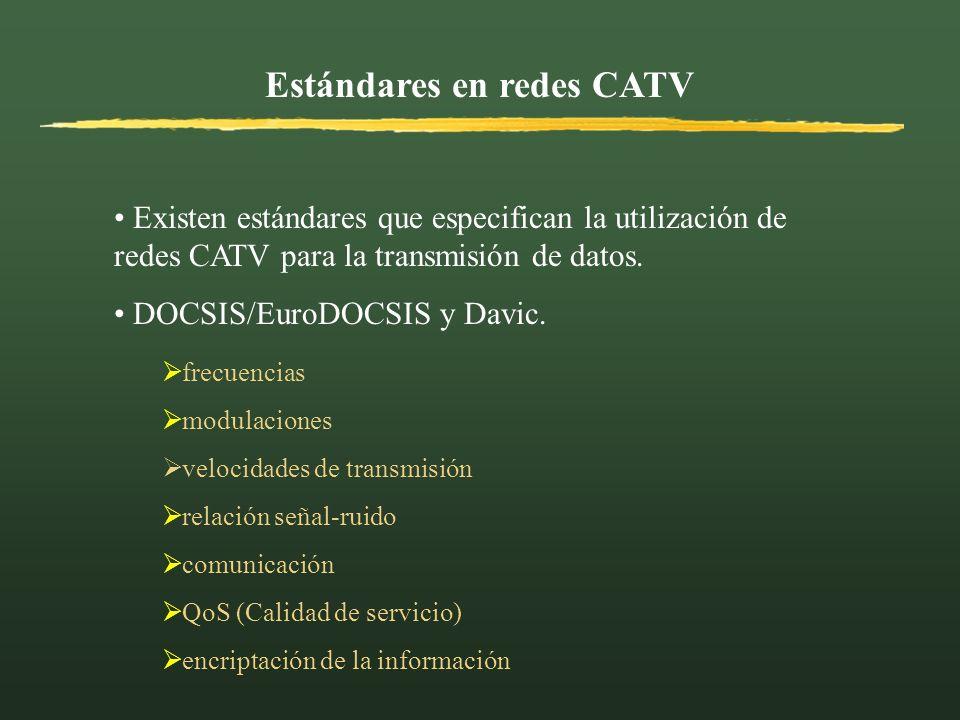 Estándares en redes CATV