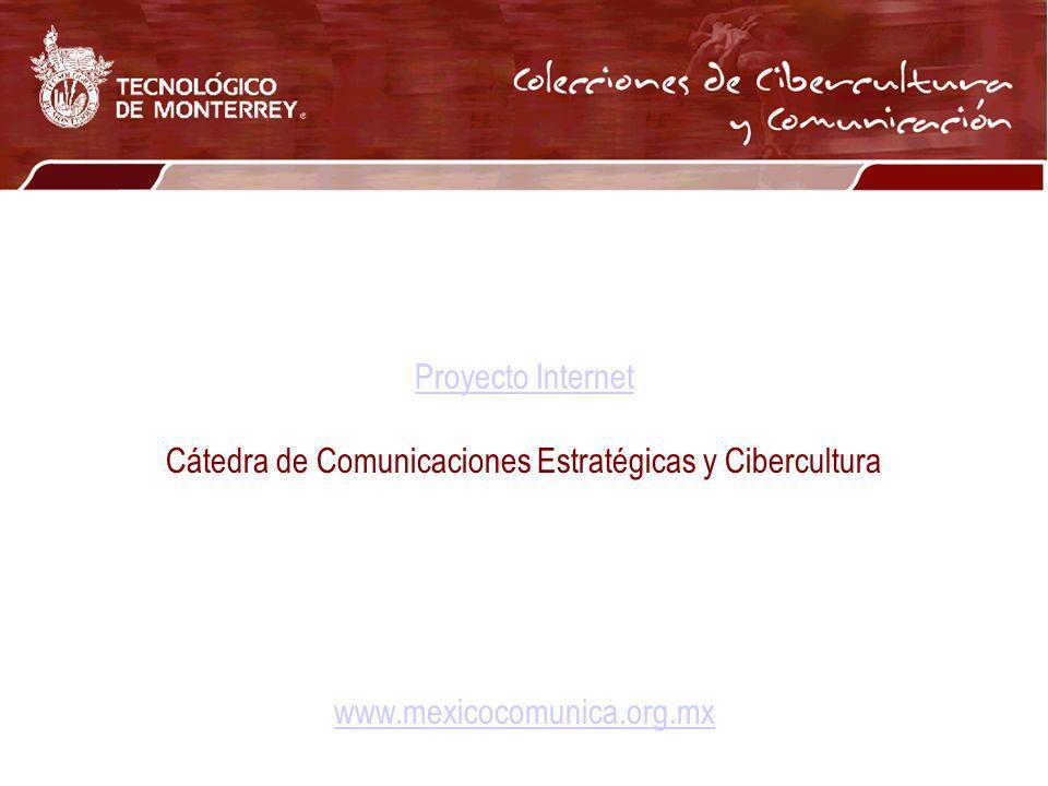 Cátedra de Comunicaciones Estratégicas y Cibercultura