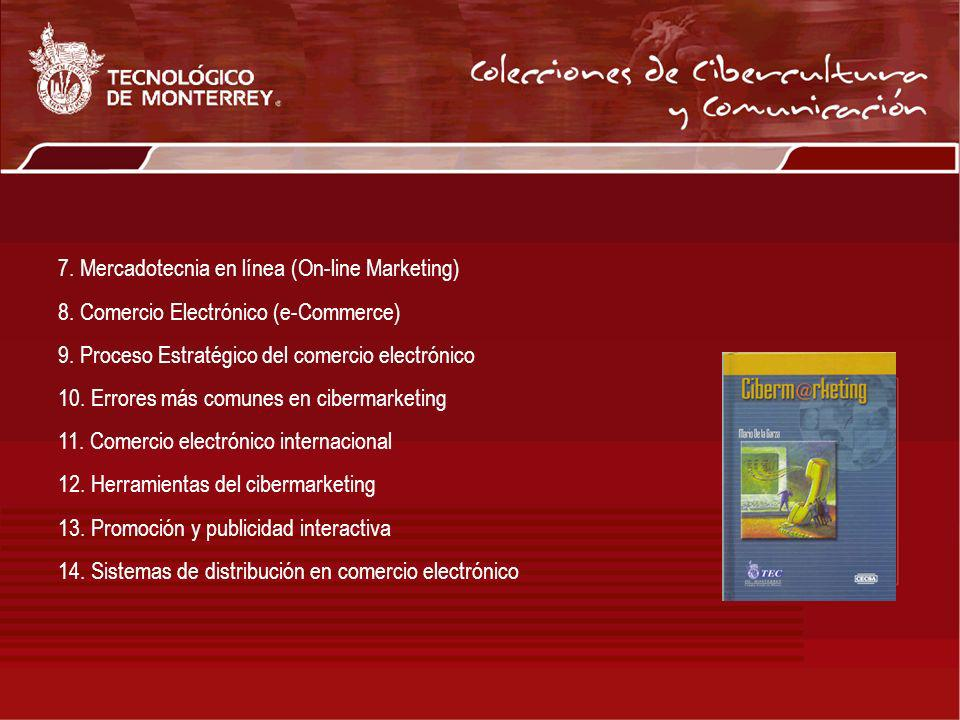 7. Mercadotecnia en línea (On-line Marketing)