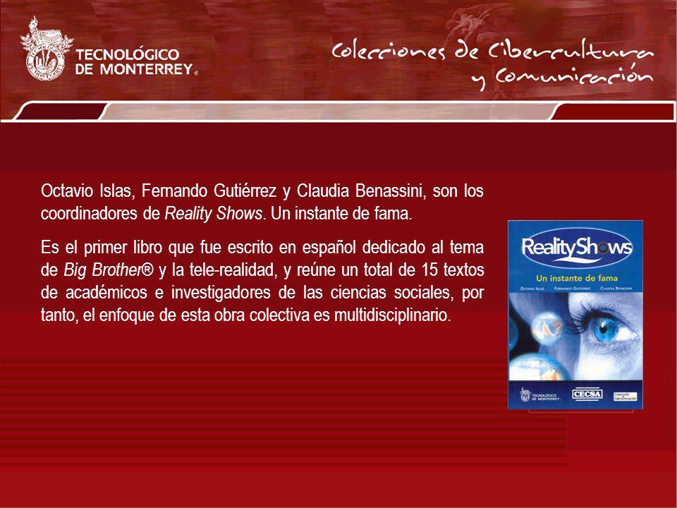 Octavio Islas, Fernando Gutiérrez y Claudia Benassini, son los coordinadores de Reality Shows. Un instante de fama.