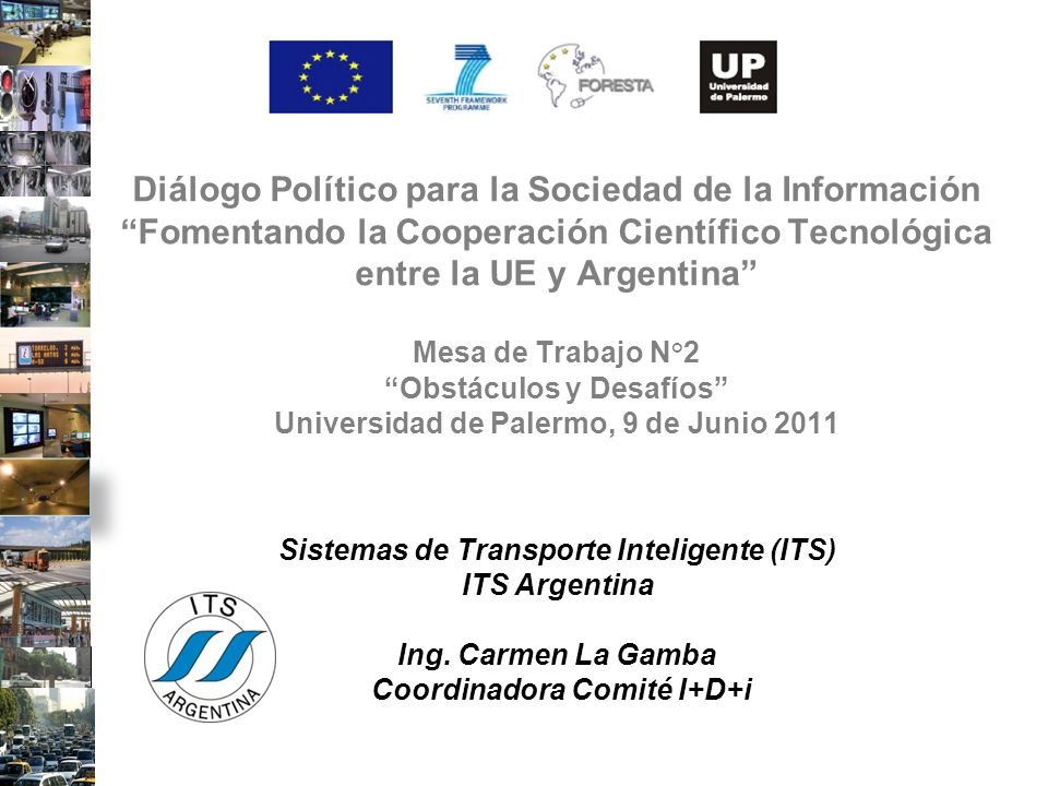Sistemas de Transporte Inteligente (ITS)