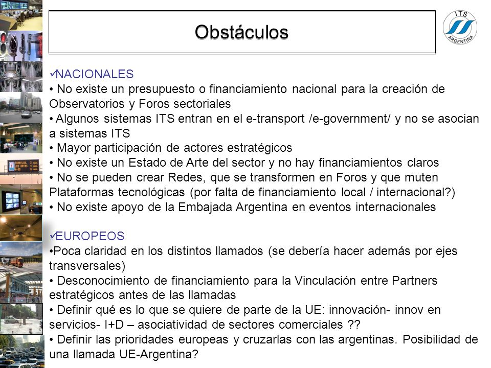 Obstáculos NACIONALES