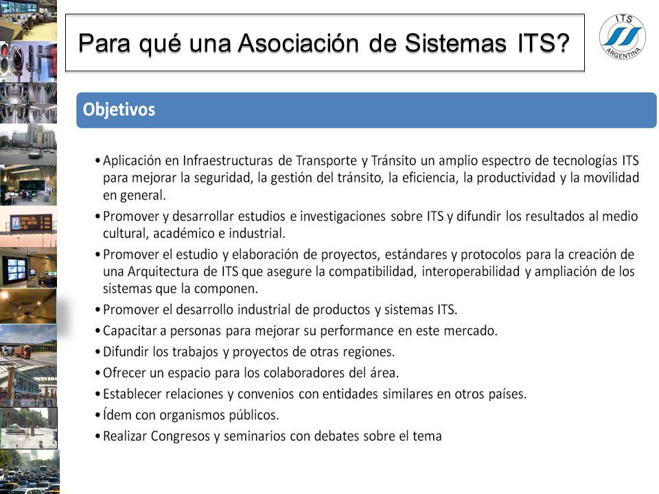 Para qué una Asociación de Sistemas ITS