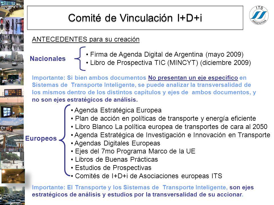 Comité de Vinculación I+D+i