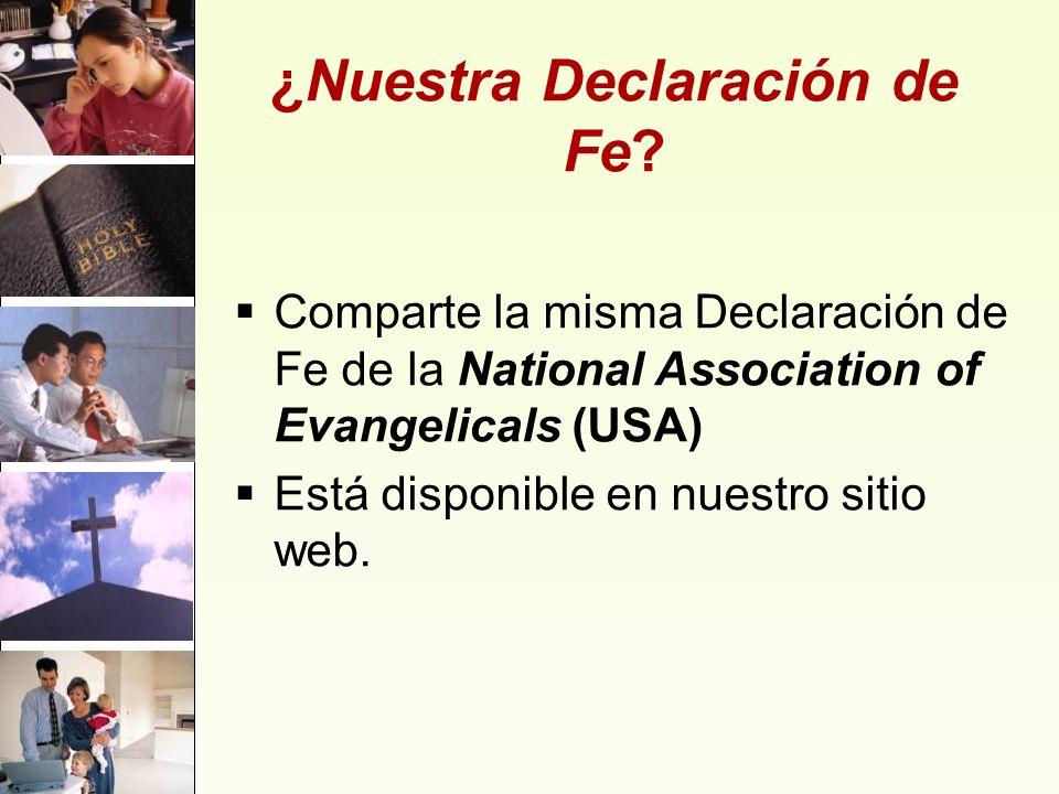 ¿Nuestra Declaración de Fe