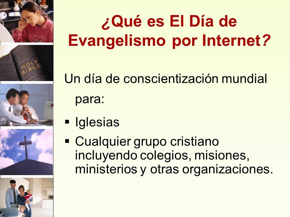 ¿Qué es El Día de Evangelismo por Internet