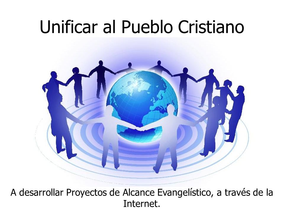 Unificar al Pueblo Cristiano