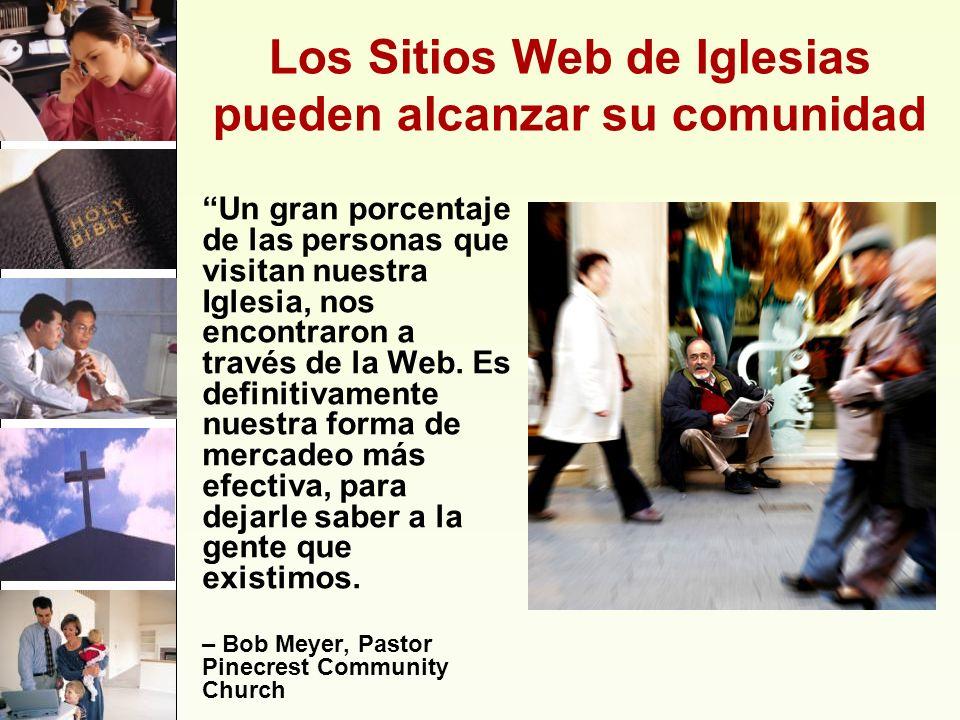 Los Sitios Web de Iglesias pueden alcanzar su comunidad