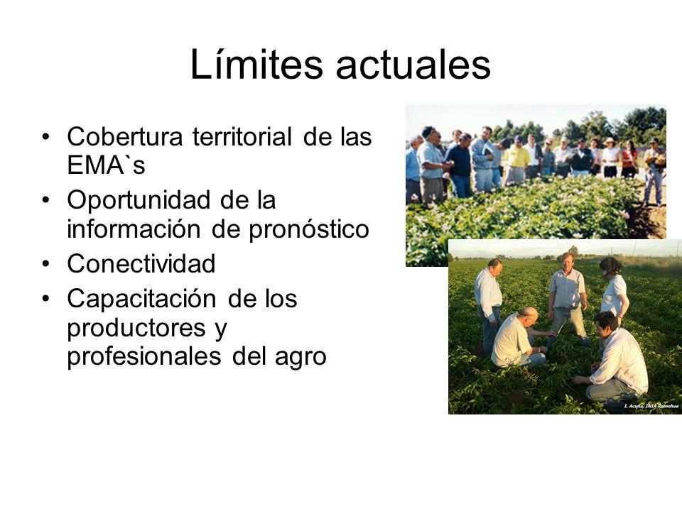 Límites actuales Cobertura territorial de las EMA`s