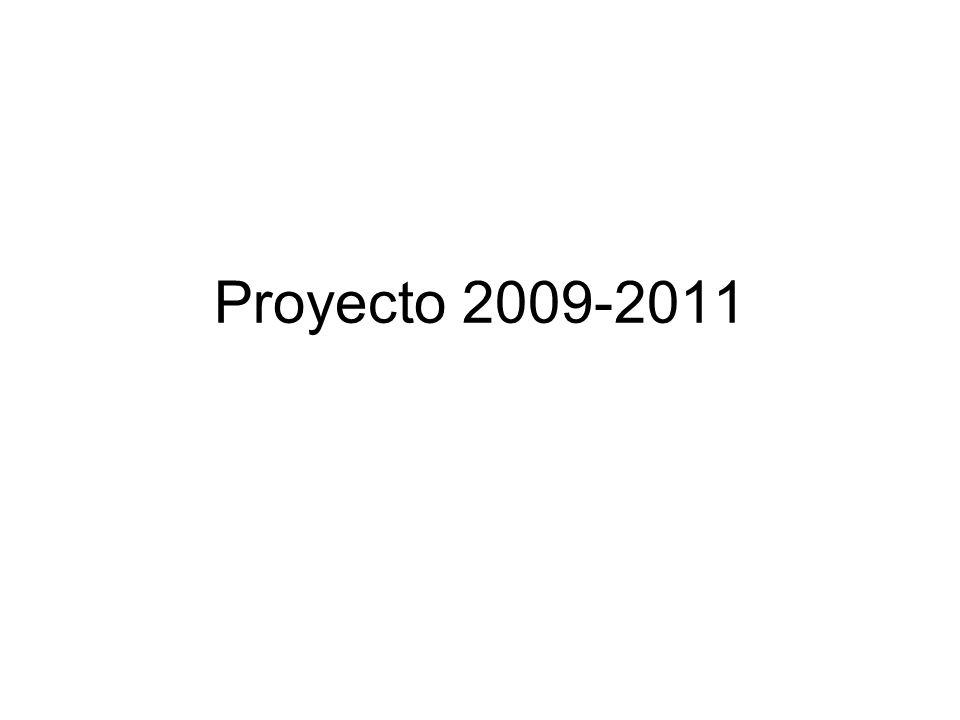 Proyecto 2009-2011
