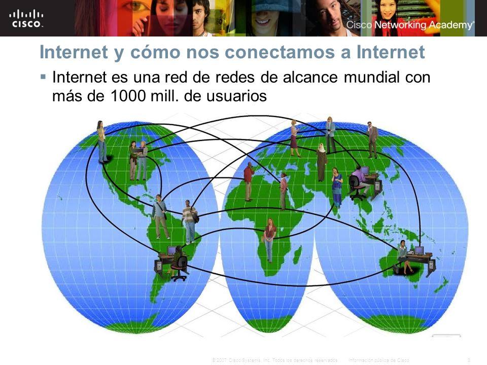 Internet y cómo nos conectamos a Internet