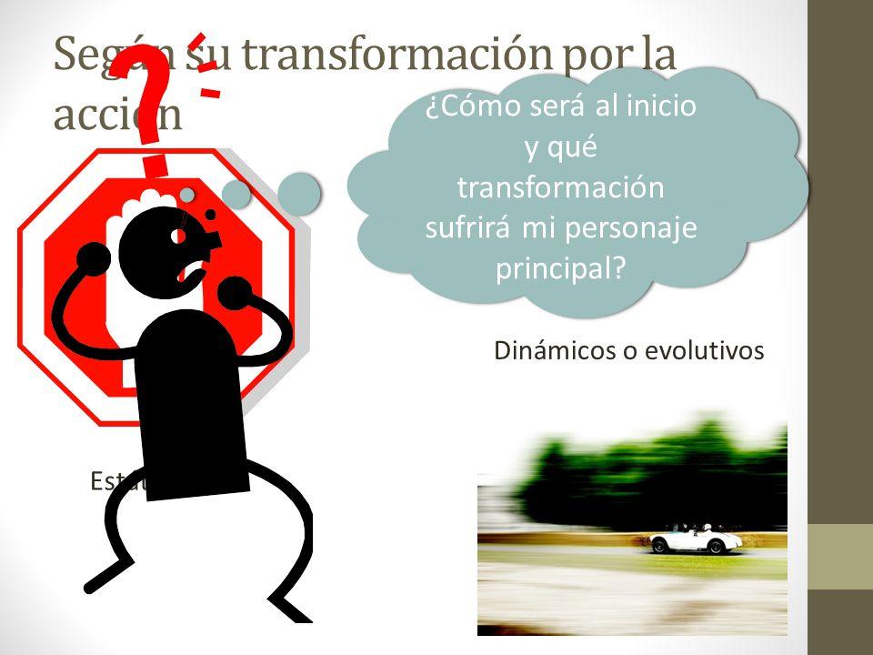 Según su transformación por la acción