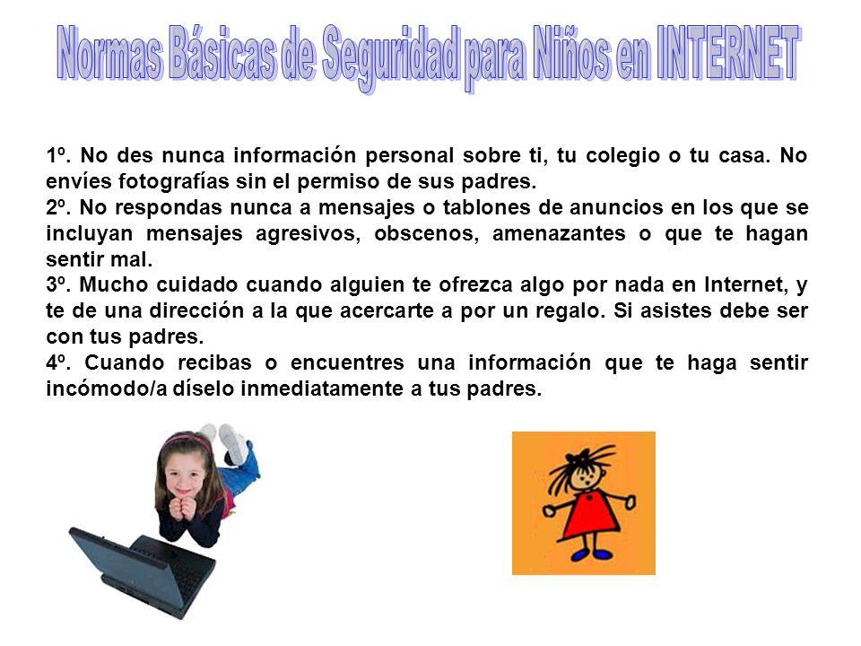 Normas Básicas de Seguridad para Niños en INTERNET