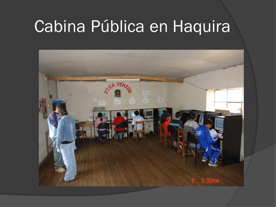 Cabina Pública en Haquira