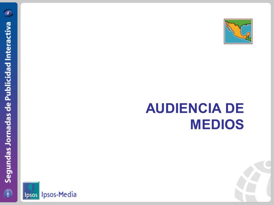 AUDIENCIA DE MEDIOS