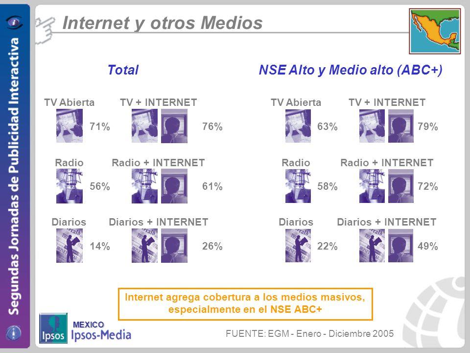 NSE Alto y Medio alto (ABC+)