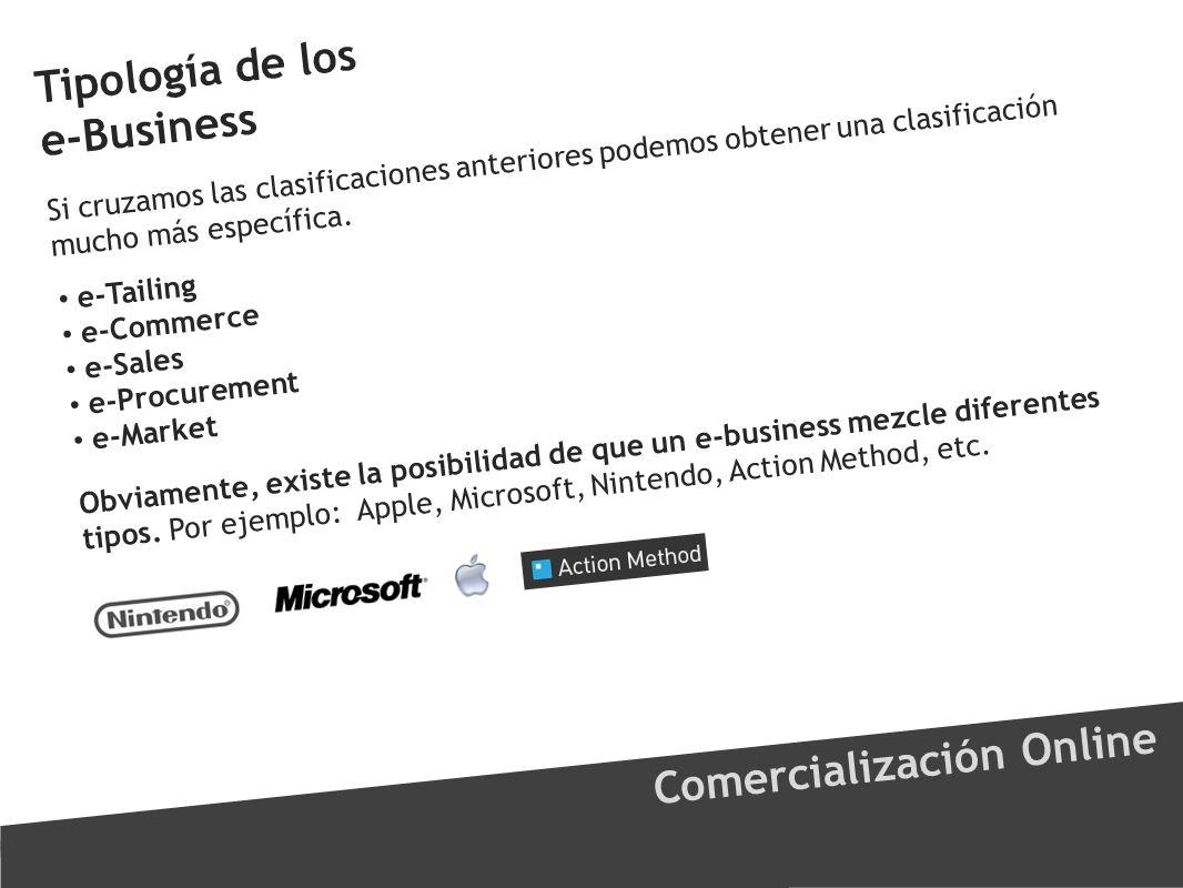 Tipología de los e-Business