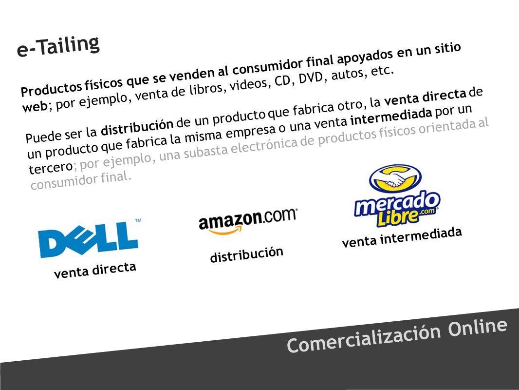 e-Tailing Comercialización Online