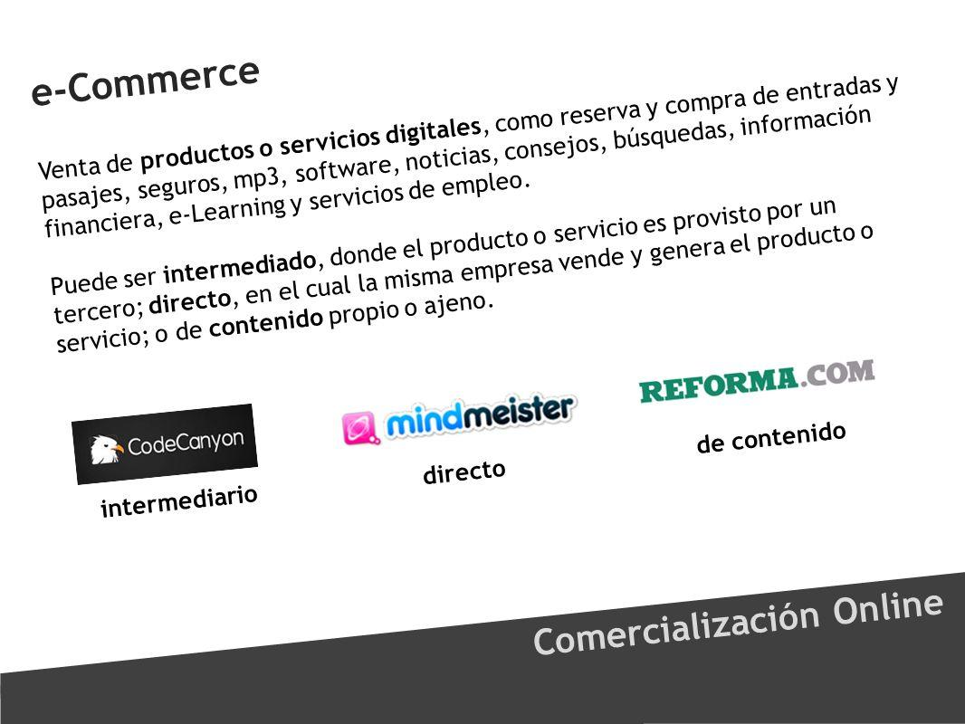 e-Commerce Comercialización Online