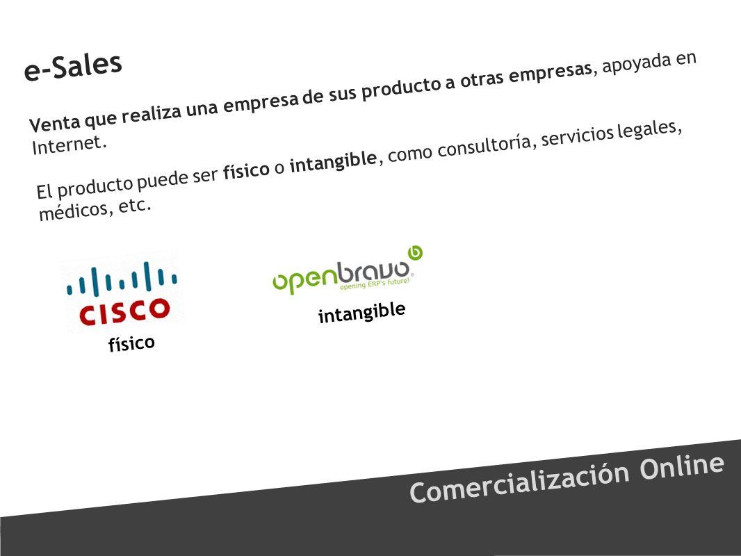 e-Sales Comercialización Online