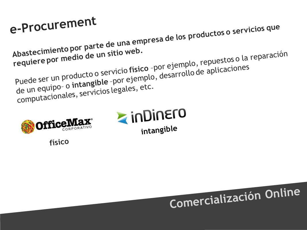 e-Procurement Comercialización Online