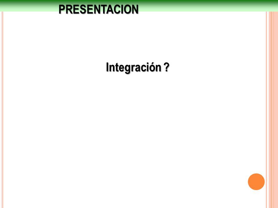 PRESENTACION Integración