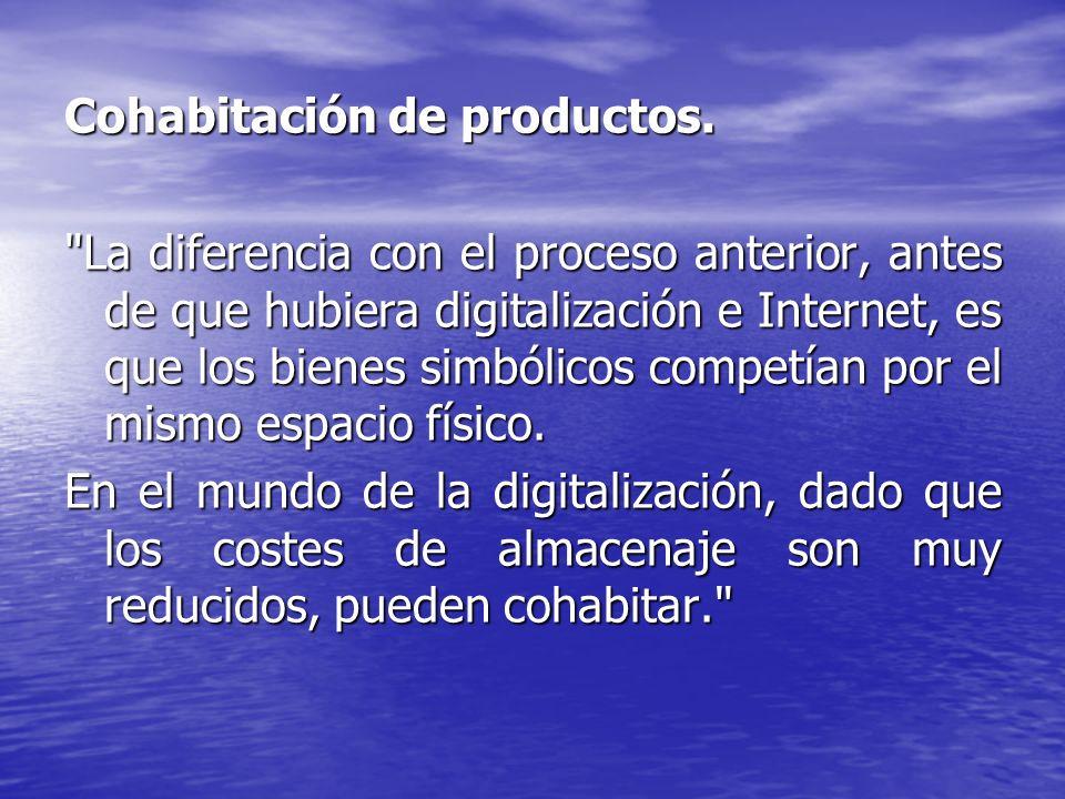 Cohabitación de productos.