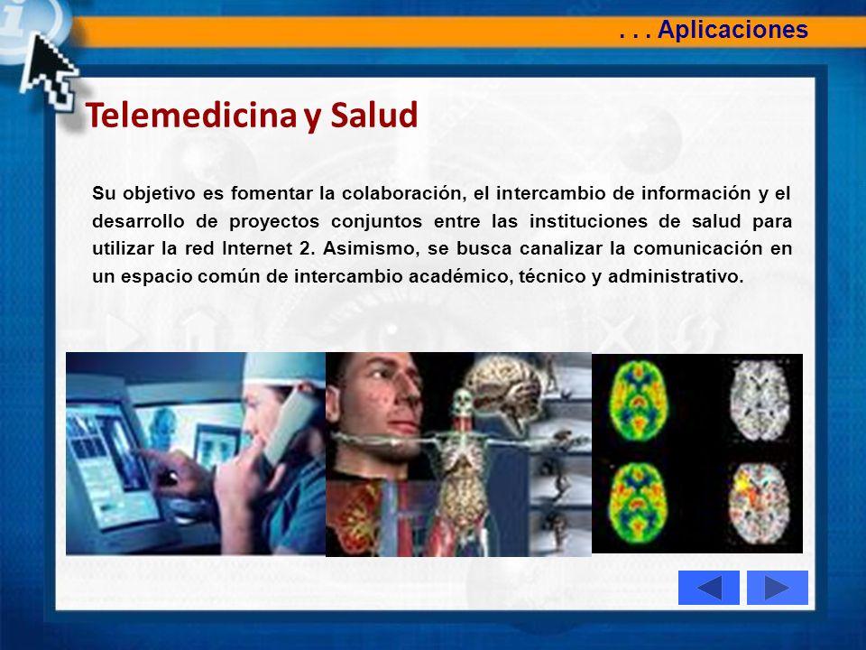 Telemedicina y Salud . . . Aplicaciones