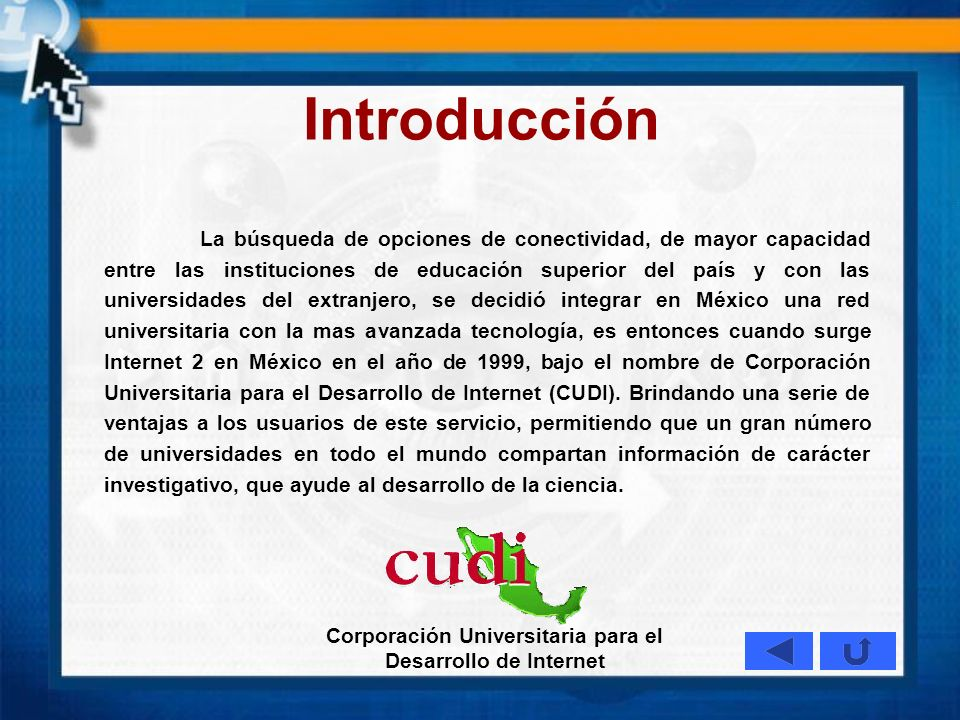 Corporación Universitaria para el Desarrollo de Internet