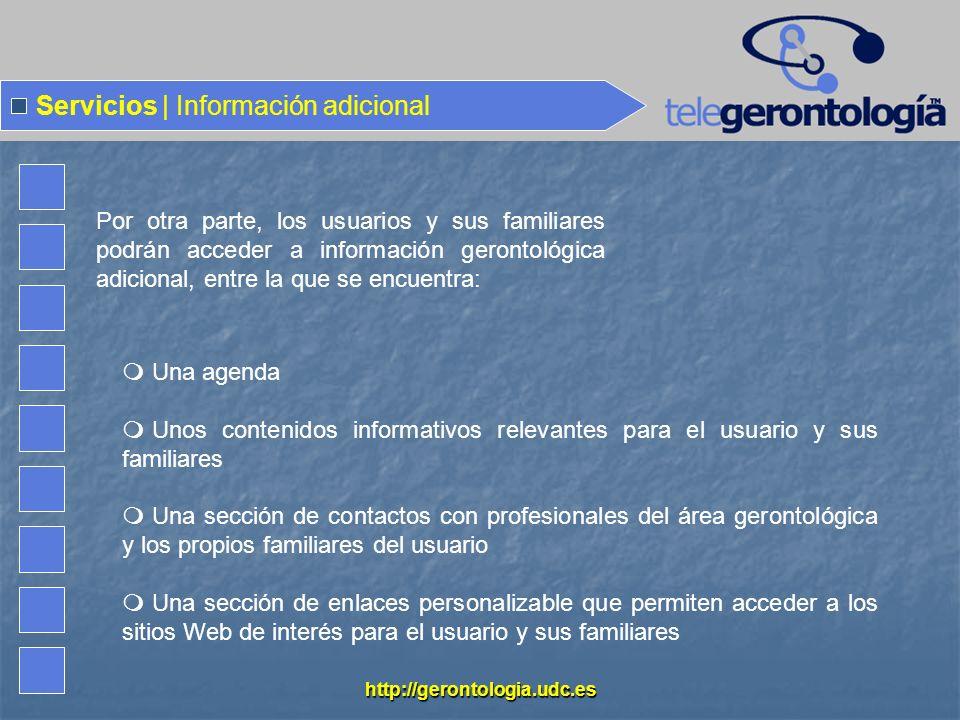 Servicios | Información adicional