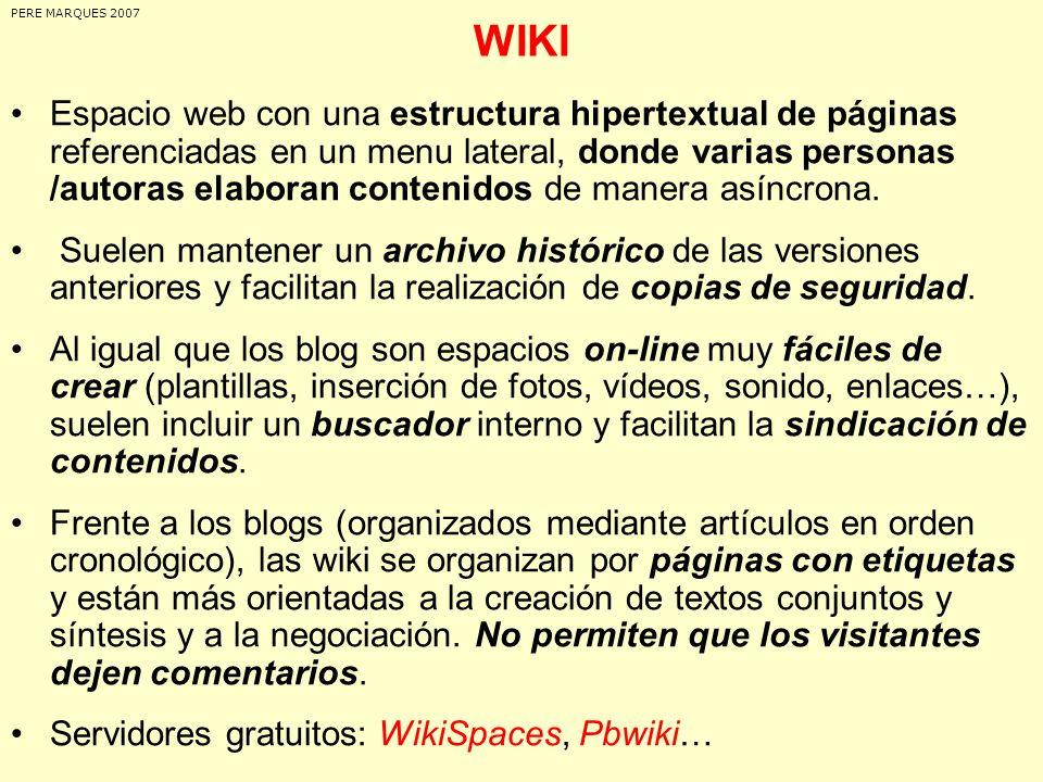 PERE MARQUES 2007 WIKI.