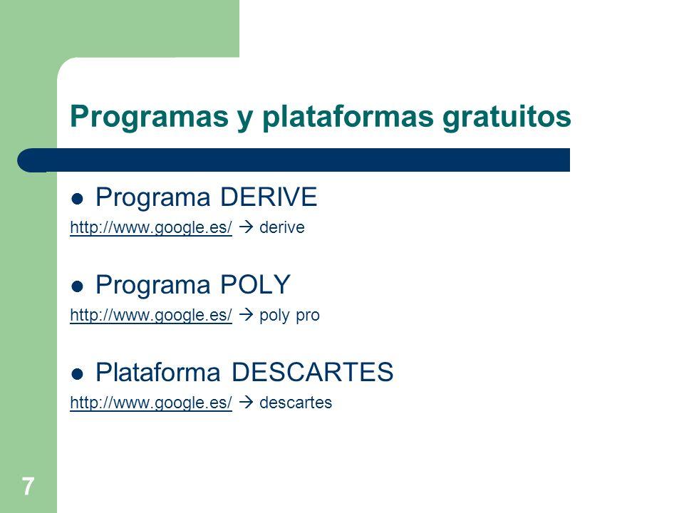 Programas y plataformas gratuitos