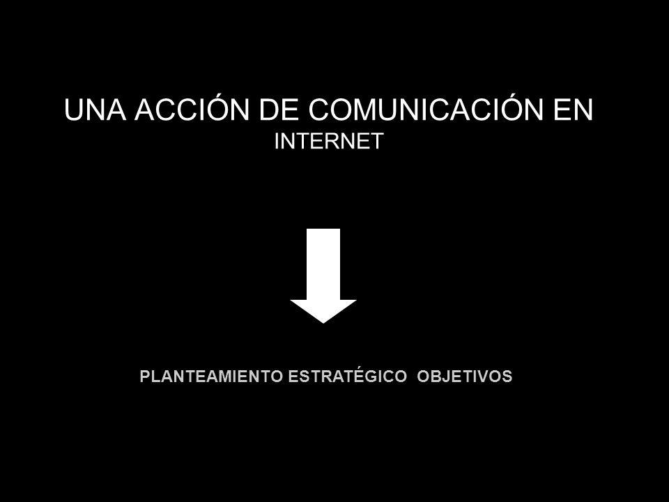 UNA ACCIÓN DE COMUNICACIÓN EN INTERNET