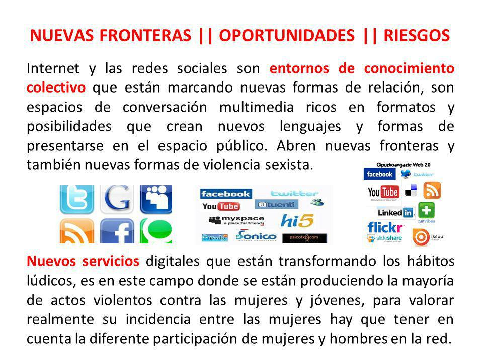 NUEVAS FRONTERAS || OPORTUNIDADES || RIESGOS